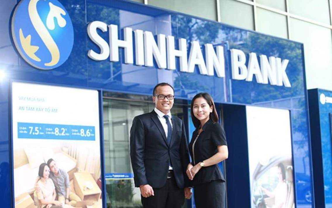 Mở thẻ tín dụng ngân hàng ShinhanBank