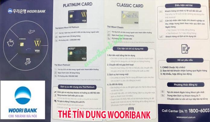 thẻ tín dụng ngân hàng Wooribank